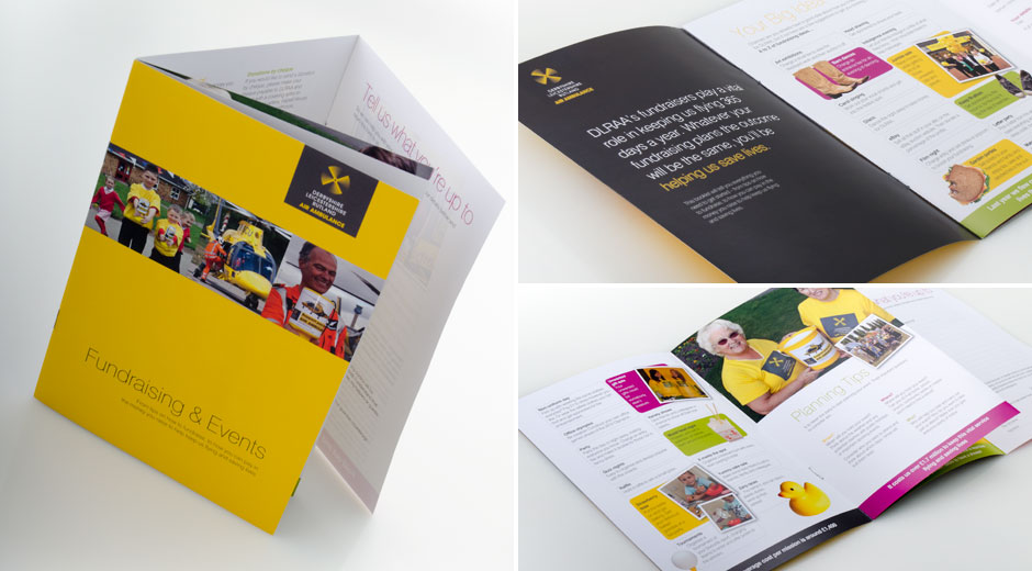 The Air Ambulance Corporate Brochure Fundraising Leaflet