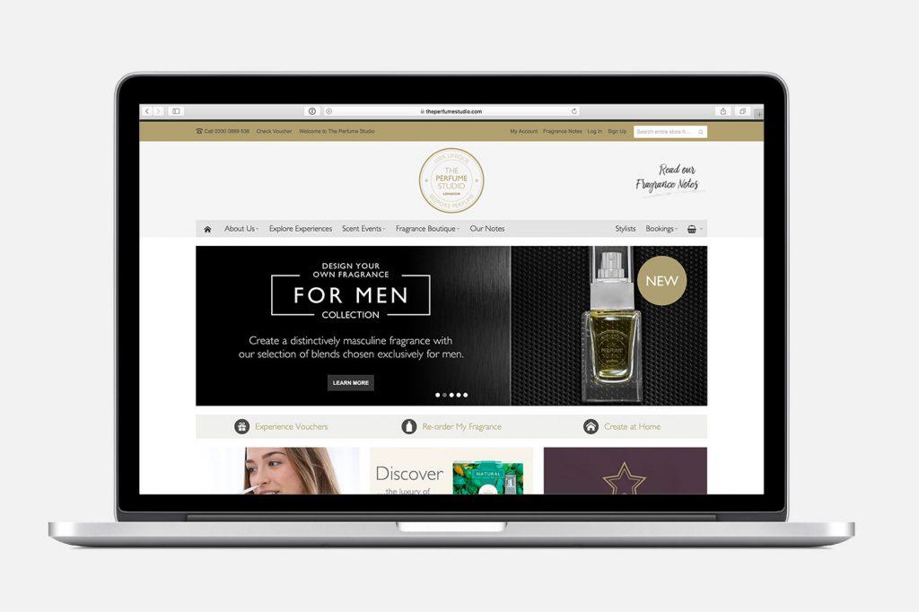 The Perfume Studio Website