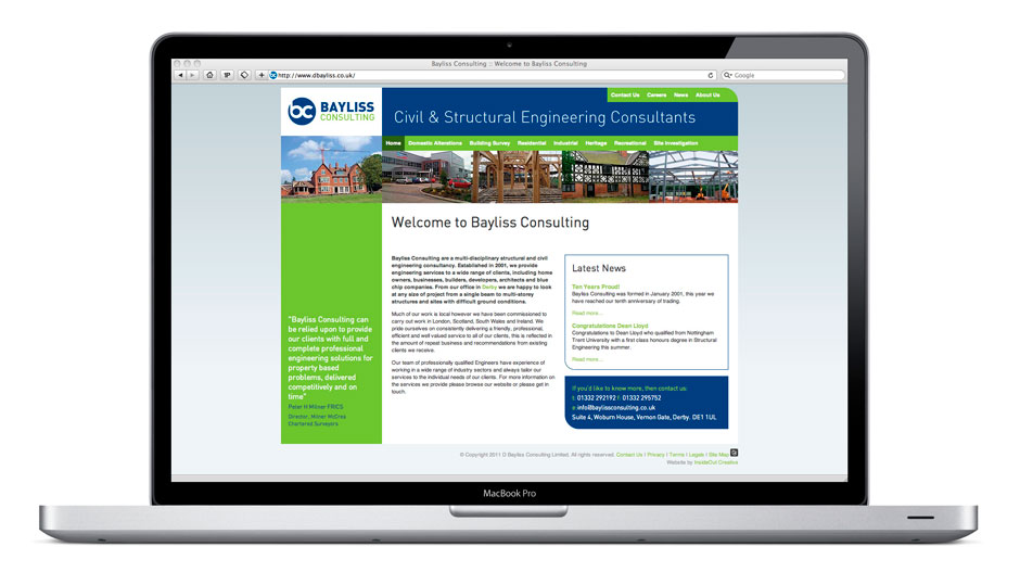 Baylis Consulting Website
