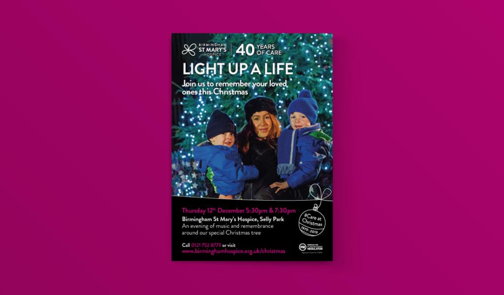 Birmingham St Mary's Light up a Like campaign
