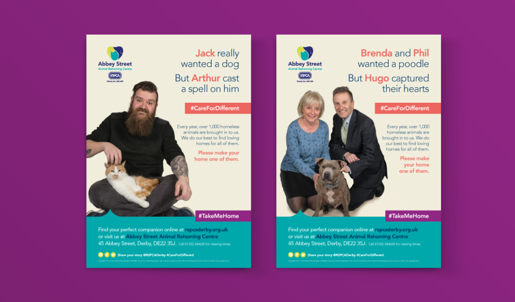 RSPCA Care For Different campaign