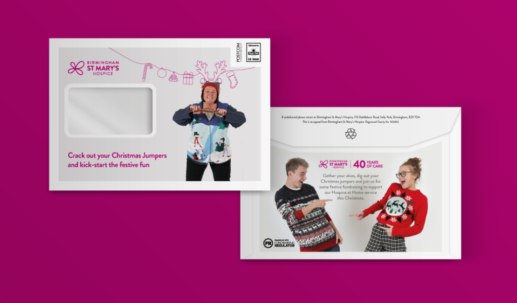 Birmingham St Mary's Hospice Christmas Jumper Campaign