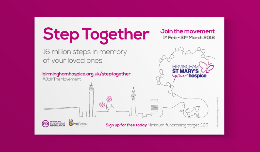 Birmingham St Mary's Hospice Step Together