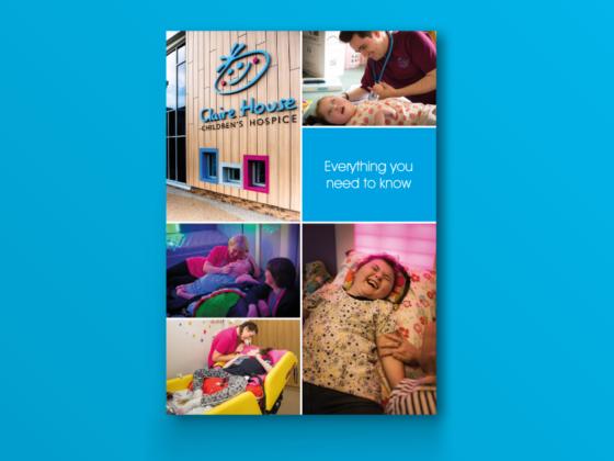Claire House Children's Hospice Brochure