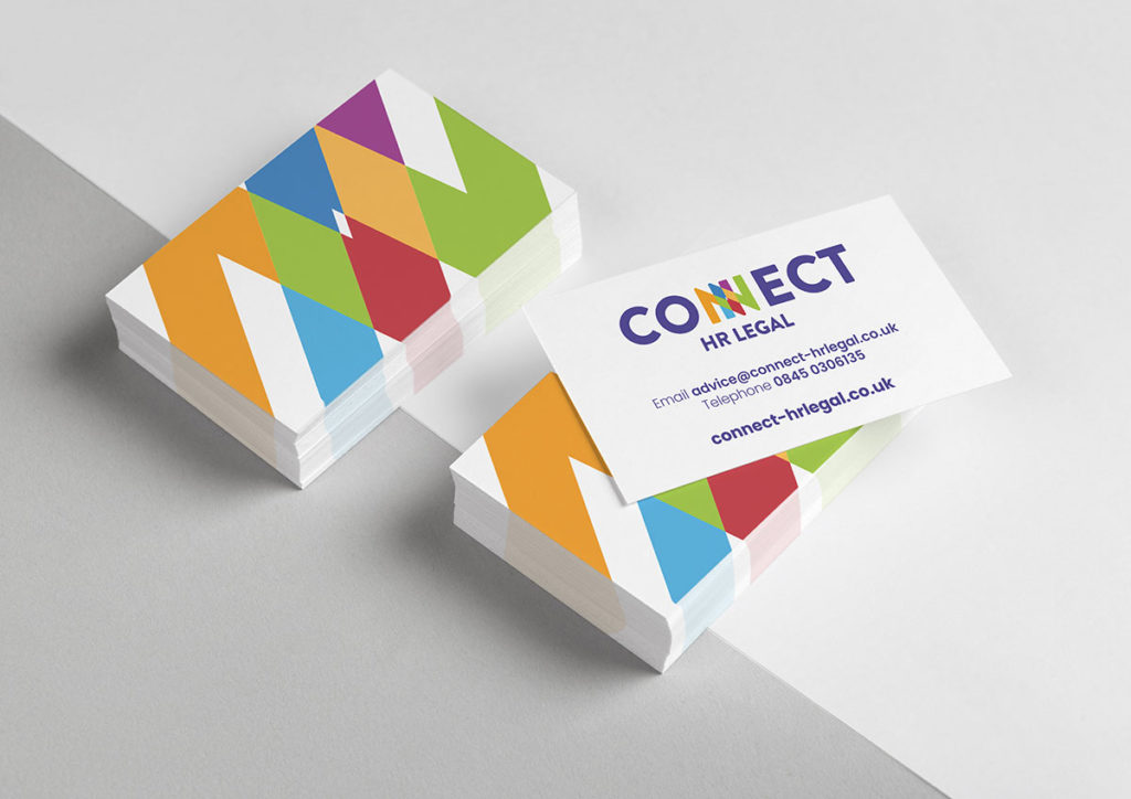 Connect HR Legal Business Cards