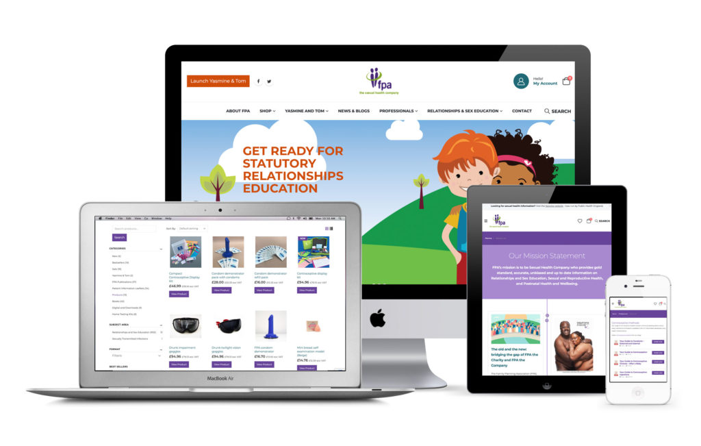 FPA The Sexual Health Company website