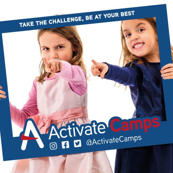 Activate Camps Selfie Board